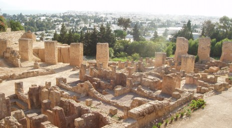 A view from Byrsa Hill at Carthage
