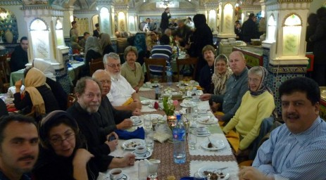 Dining out in Tehran with Iranians!