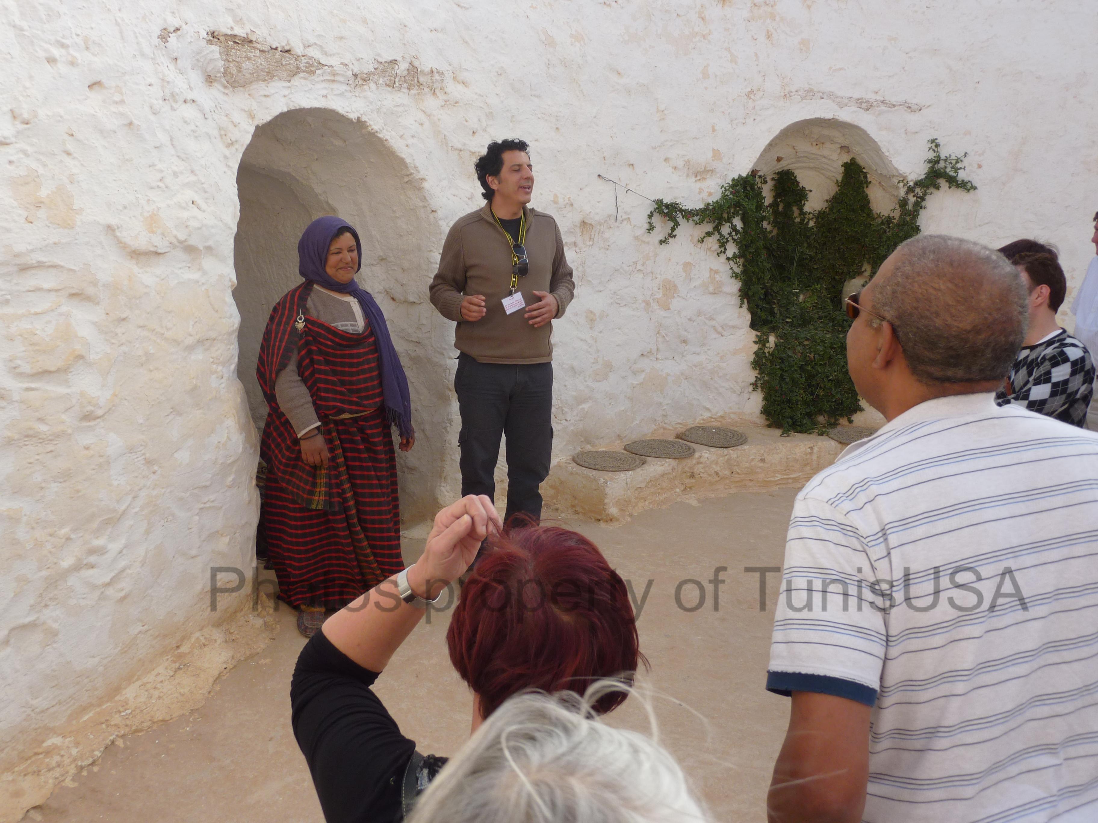 Tunisia Matmata with group