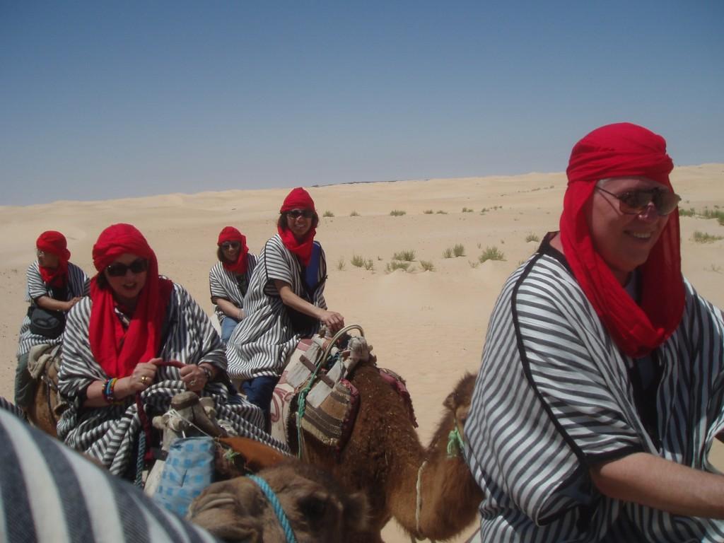 Tunisia Douz camel trek