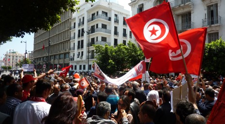 Celebrating Tunisia's new independence