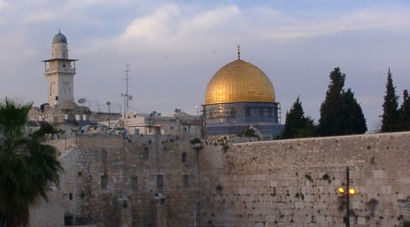 Jerusalem, a city important to Christians, Jews and Muslims