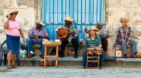 Cuban street musicians in Havana