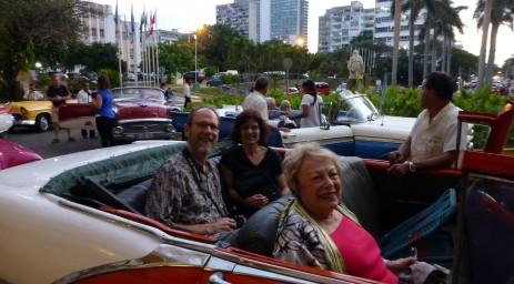 Enjoying Cuba's old cars...