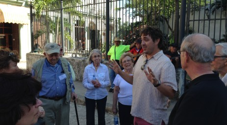A walking architectural tour to learn about renovation in old Havana.