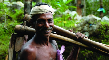 A farmer in Kerala