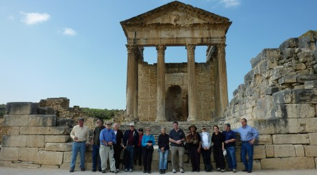 Enjoying Dougga
