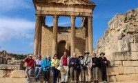 Visiting Dougga, Tunisia's most expansive archaeological site.