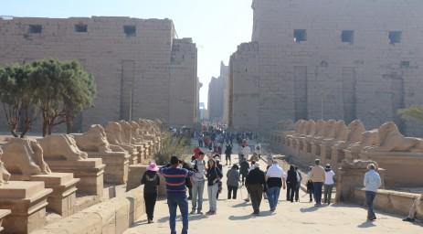 Visiting Karnak