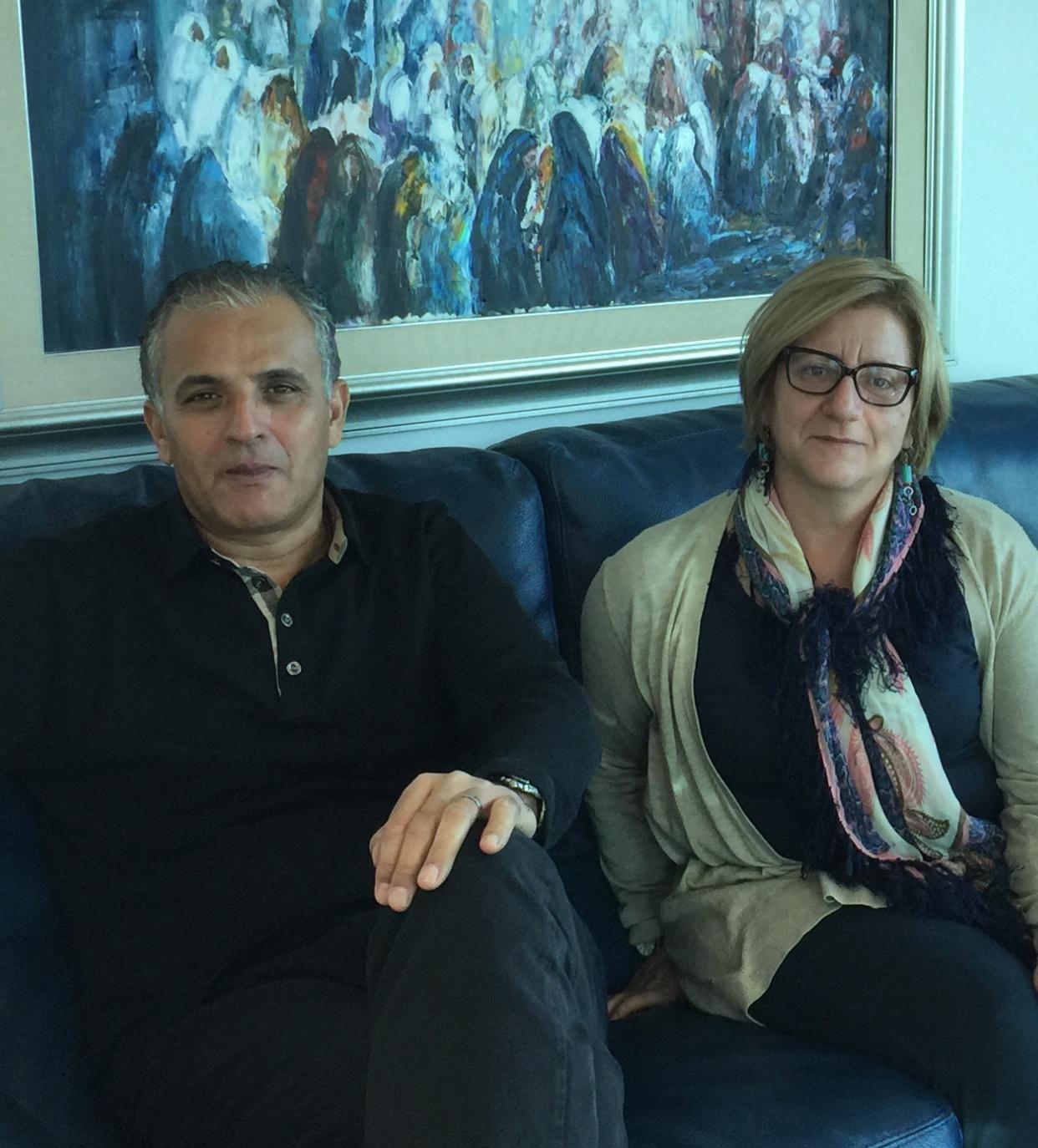 Kamel and Hela in Tunisia