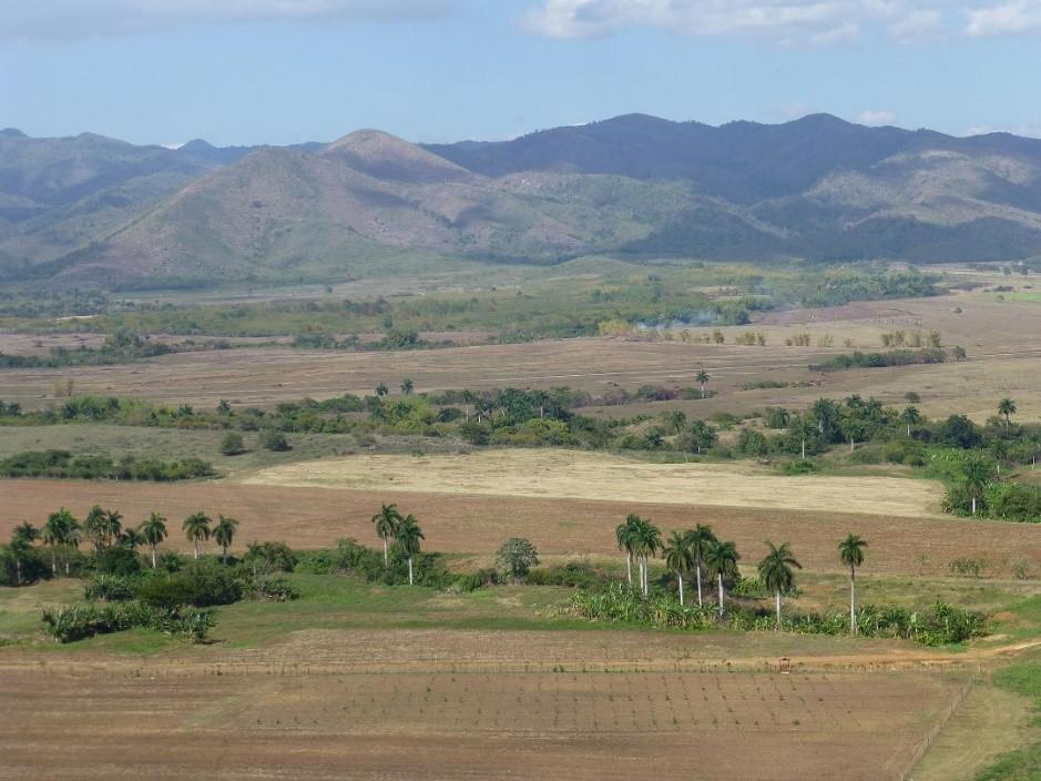 Scenery driving through rural Cuba