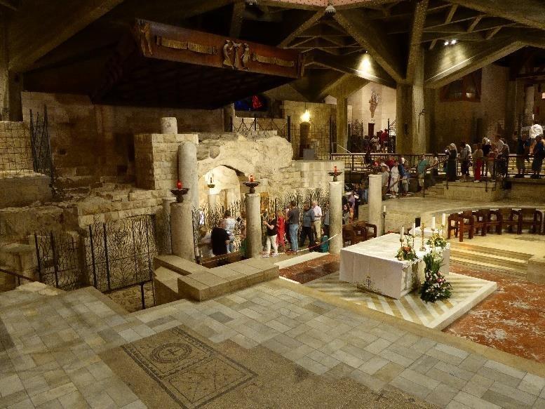 Church of the Annunciation in Nazareth.