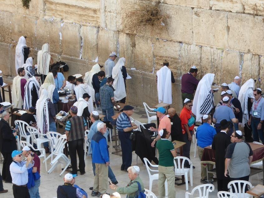 "Visit The ""kotel"" or Western Wall in Jerusalem."
